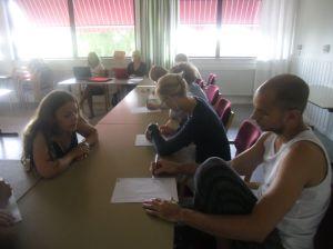 Practising classroom management